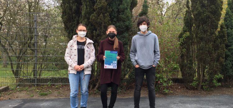 Filmprojekt von Abiturienten beeindruckte bei Bundeswettbewerb für politische Bildung